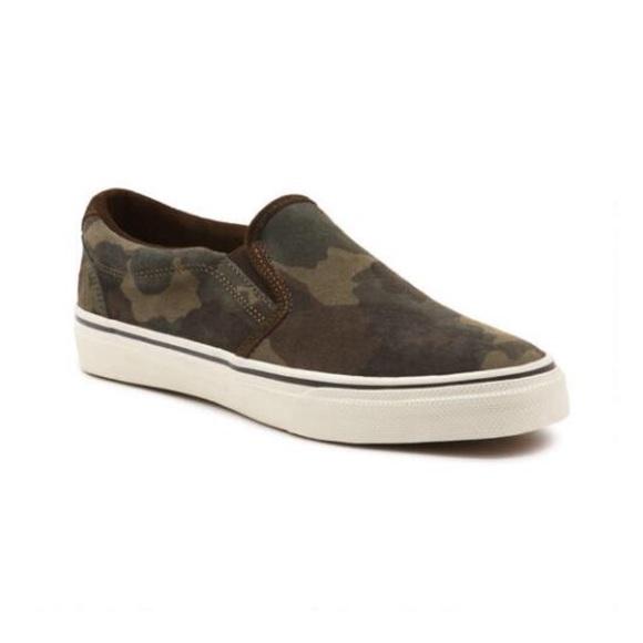 Bass Shoes | Gh Bass Mens Camo Slipons